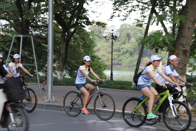 HANOI EARLY MORNING BIKE TOUR (2.5 hours tour, everyday departure at 5:30 am)